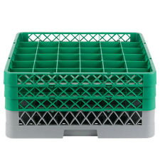 NEW Commercial Dishwasher Dish Washer Machine 36 Cup Glass Tray Rack 3 Extenders