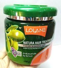 500 g Lolane Natura  Hair Treatment Mask Dry&Damaged Silk Protein&Jojoba Oil