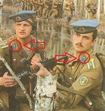 Soviet Russian Airborne VDV Paratrooper Uniform Collar TAB Pin BADGE 2 pcs