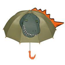 Kidorable Boys Green Child Size Lightweight Dinosaur Umbrella