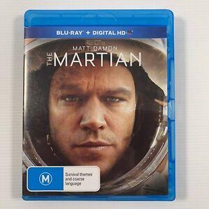 The Martian (Blu-ray, 2016) Matt Damon Jessica Chastain Region B