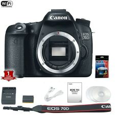 Canon EOS 70D DSLR Camera Body Only Memorial Day Sale
