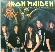 """IRON MAIDEN """"WHISPERS IN THE NIGHT""""  double cd NEW"""