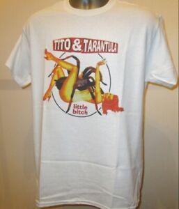 Tito & Tarantula Little Bitch T Shirt Blues Rock Music Santana ZZ Top Plugz V156