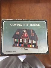 New ListingVintage Sewing Kit House In Original Box