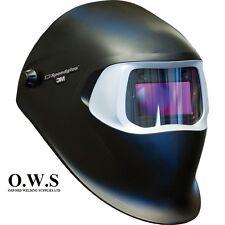"""3M Speedglas 100V Series Welding Helmet """"Black"""" Variable Shade 3 / 8-12"""