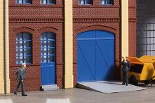 Auhagen 80255 Spur H0, Tore und Türen blau, Stufen, Rampen #NEU in OVP#