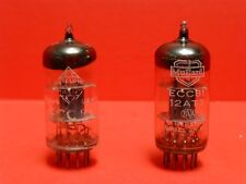 Two (2) ECC81 / 12AT7 TELEFUNKEN Germany and MULLARD Blackburn Gt Britain TESTED