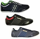 MENS NEW NICHOLAS DEAKINS FASHION TRAINERS IN BLACK NAVY COLOUR LACE UP STYLE