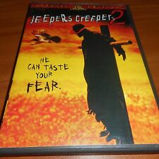 Jeepers Creepers 2 (DVD, 2003 Widescreen) Justin Long Used Jonathan Breck