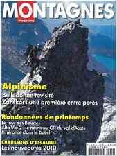 MONTAGNES magazine Alpinisme Belledone, Zanskar