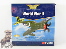 "CORGI aa33804 P-47D THUNDERBOLT 317th FS Checkertails,"" 11 "",Herschel Verde"