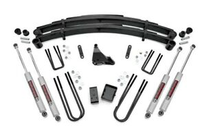 """Rough Country Ford F250 F350 Super Duty 6"""" Suspension Lift Kit 3/1/1999-2004"""