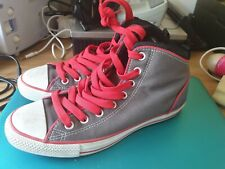 UNISEX  CONVERSE ALL STARS CHUCK TAYLOR CUSHIONED BACK  HI / MID TOPS SIZE UK 8