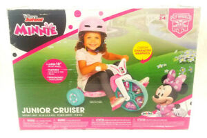 """Minnie Mouse 10"""" FlyWheels Junior Cruiser Ride-on Ages 2-4"""