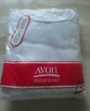AVON*SWEATSHIRT FROM THE AVON SIGNATURE COLLECTION*LARGE/X LARGE*NEW SEALED*1990