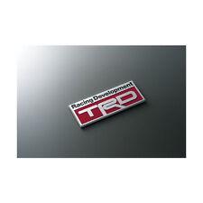 Brand New 100% Genuine TRD Emblem Plate Logo Decal Red Toyota Tundra Tacoma US