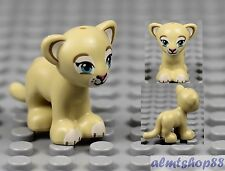 LEGO - Tan Lion / Tiger Cub - Animal Minifigure Friends 41048 41059 Savannah