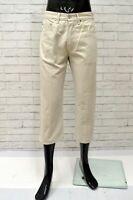 Bermuda LEVIS Uomo Taglia Size 28 Jeans Pantalone Shorts Pants Man Cotone Beige