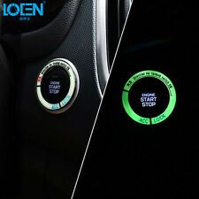DECORATIVE ACCESSORIES Car BUTTON START Switch Diamond Ring Cover Fluorescence