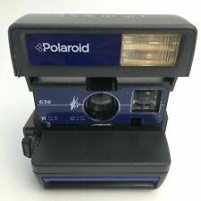 Polaroid Camera RARER STRIKING BLUE STYLISH*FILM /MANUAL/ A GUIDE inclusive 13