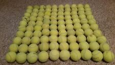 100 Used Indoor Tennis Balls (Very Clean)