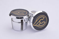 Cinelli Plugs Caps Tapones guidon bouchons lenker vintage style New gold