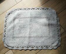 Bath Mat Rug Bathroom Rug Shower Mat Shabby Chic Grey 60cm