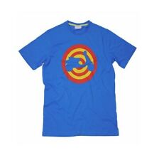 Vespa Primavera Scooter Target Mens Tee Limited Edition Blue T-Shirt NEW