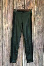 H&M Black Faux Leather Pants Women's Size 4
