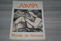 Maurice Savin / Musée de Romans 1973 / A6