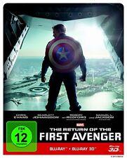CAPTAIN AMERICA 2 - THE RETURN OF THE FIRST AVENGER - Steelbook / Bluray 3D + 2D
