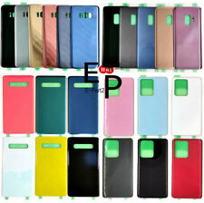 Battery Case Rear Door Glass Cover For Samsung Galaxy S7 S8 S9 S10 S20 S21