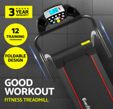 NEW Fold up Treadmill Motorised up to 12km/h Fitness LCD display lightweight