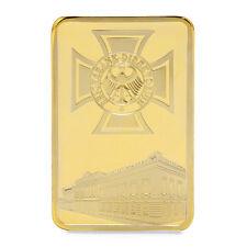 Deutsche Reichsbank Commemorative Coin Challenge Coin Souvenir Collection Golden