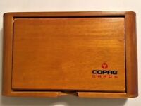 Copag Playing Cards Wooden Storage Box