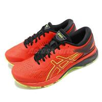 Asics Gel Kayano 25 Cherry Tomato Yellow Men Running Shoes Sneakers 1011A019-801