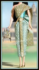 princess of Cambodia outfit costume fits Barbie model muse silkstone