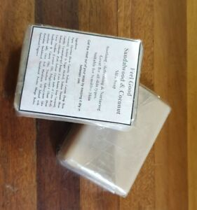Coconut Oil Based Soap with Sandalwood