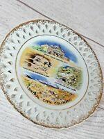 """Vintage 6"""" Central City, Colorado Souvenir Collector's Plate Victoria's Ceramics"""