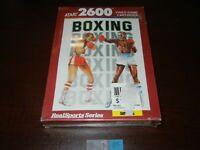 BOXING ATARI 2600 NEW & SEALED