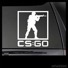 CS:GO Counter-Strike Go Logo Vinyl Decal!  Car Truck window sticker GAM-00037