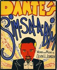 "DANTE the Magician: ""Sim-Sala-Bim"" - Original Sheet Music"