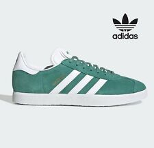 ⚫ 2020 Adidas Originals GAZELLE ® ( UK Sizes: 6  - 12 ) Green / FUTURE HYDRO