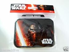 STAR WARS COTTON SWABS IN A REUSABLE TIN COLLECTIBLE NEW Q TIPS 30 SWABS KR
