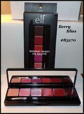 NEW in BOX  elf Studio Runway Ready Lip Palette - 6 Shades~ BERRY BLISS #83270