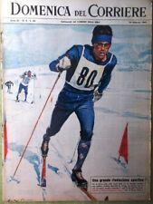 La Domenica del Corriere 24 Febbraio 1963 Landru Kassem Paperino Del Sol Renis
