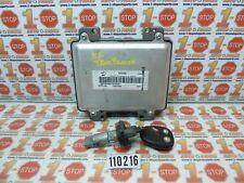 07 08 09 CHEVROLET TRAILBLAZER ENGINE COMPUTER ECU ECM & KEY SET 12607096 OEM