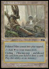 4x Palude Inquinata - Polluted Mire MTG MAGIC US Urza's Saga Ita/Eng