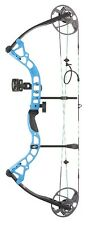 New 2016 Diamond Archery Prism Compound Bow Package 5-55# RH Blue A12706